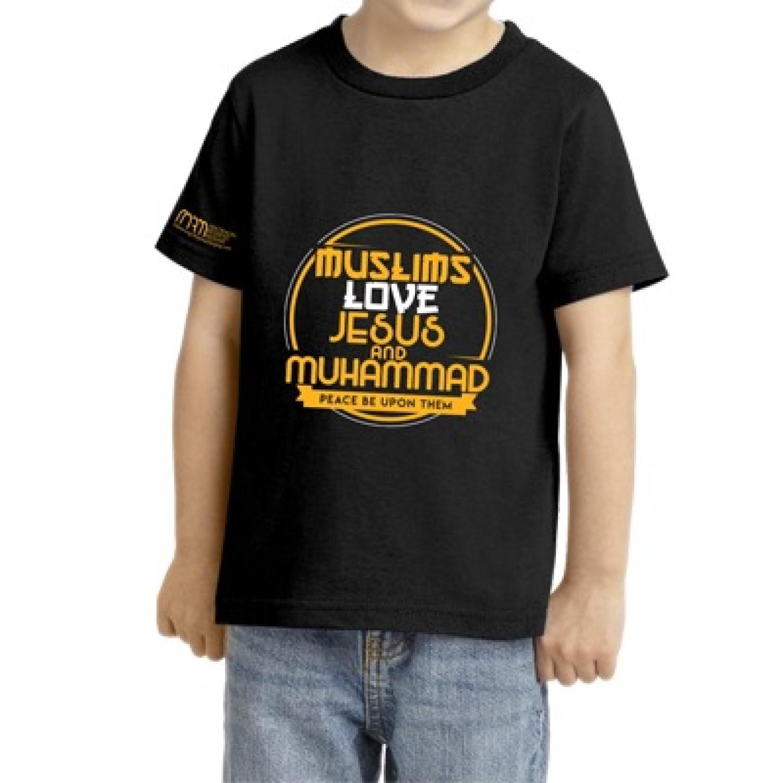 Kids T-Shirt #JMBlack