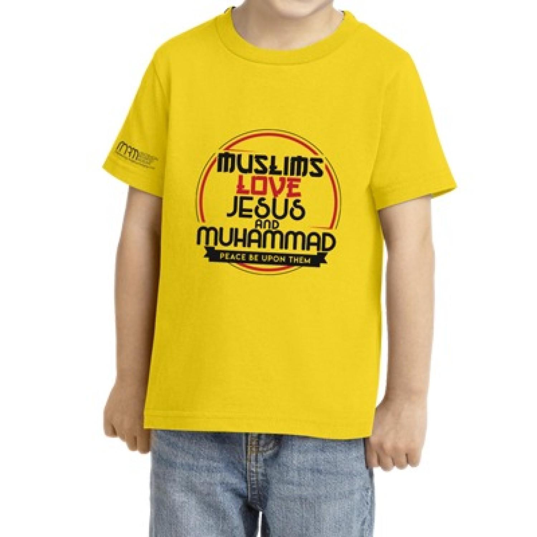 Kids T-Shirt #JMYellow